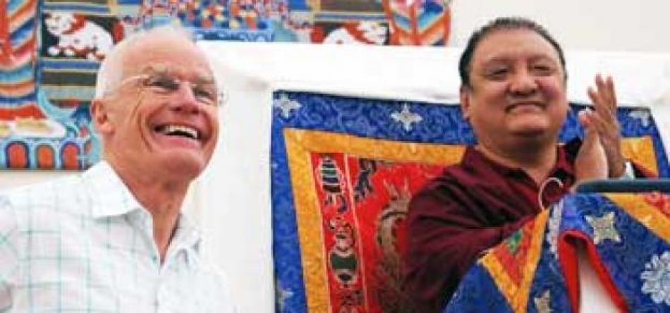 Lama Ole Nydahl und Shamar Rinpoche im Europe Center