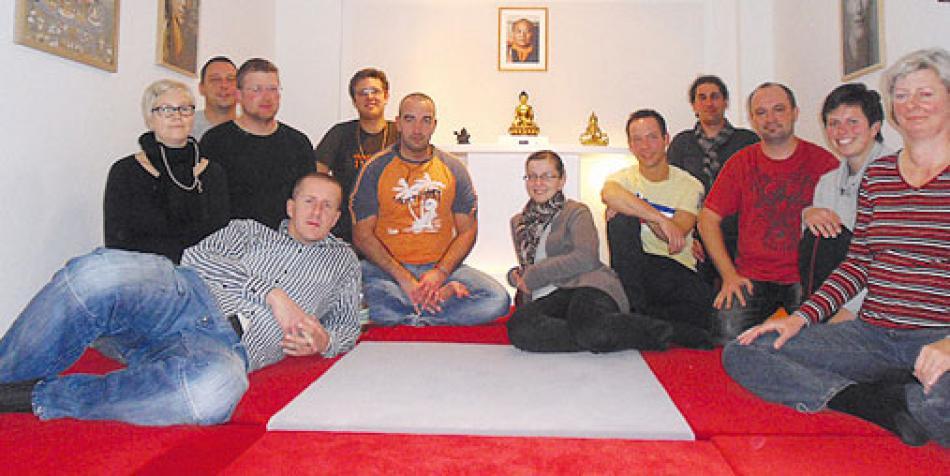 Die Sangha in Gera