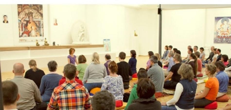 Vortrag in der Gompa in Braunschweig
