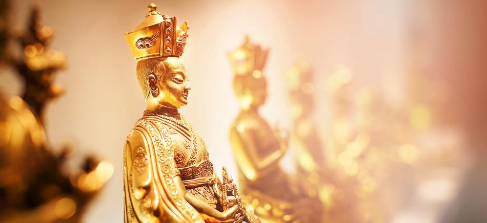 Karmapa / Statuen der Karma Kagyu Linie