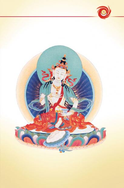 Meditation aud Diamantgeisat - Dorje Sempa
