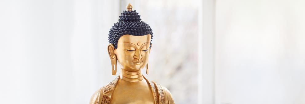 Buddhastatue im Buddhistischen Zentrum Bremen