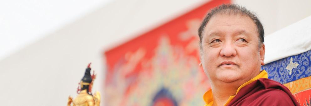 Shamar Rinpoche im Europe Center