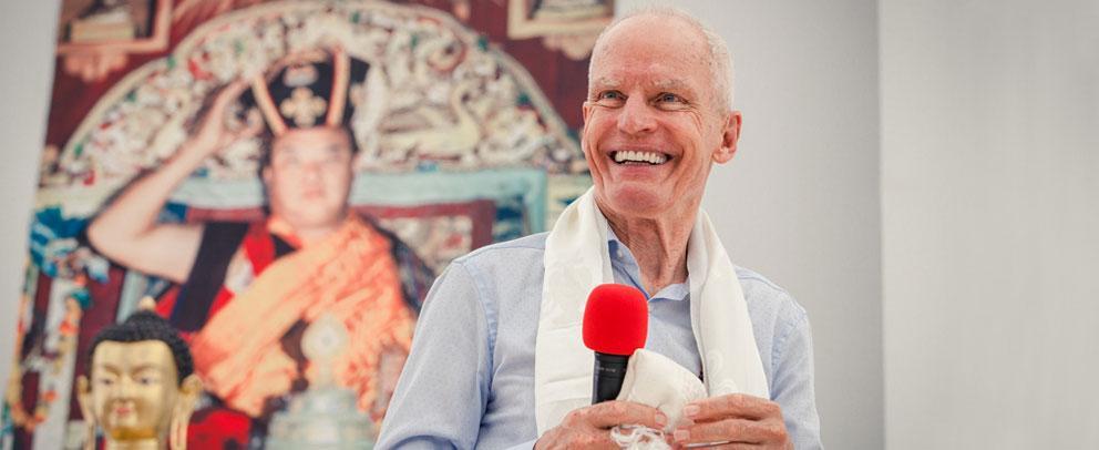 Zum 80. Geburtstag von Lama Ole Nydahl