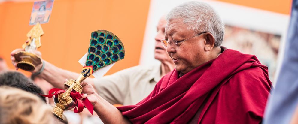 Lama Jigme Rinpoche und Lama Ole Nydahl