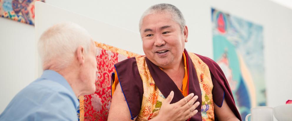 Nedo Kuchung Rinpoche und Lama Ole Nydahl