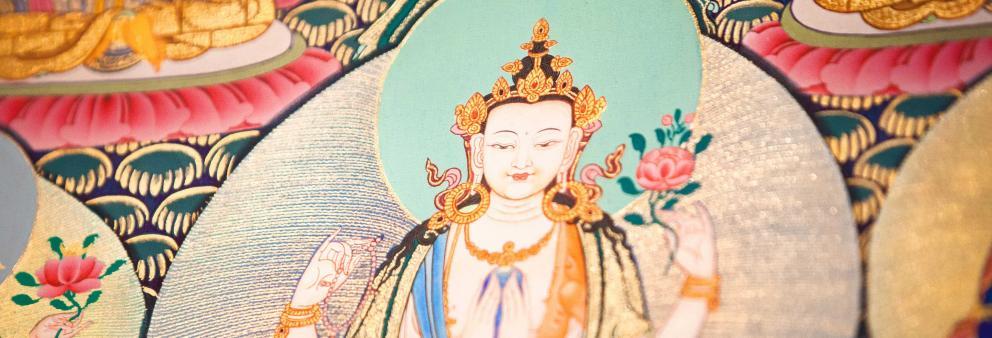 Liebevolle Augen - Chenresig - Avalokiteshvara