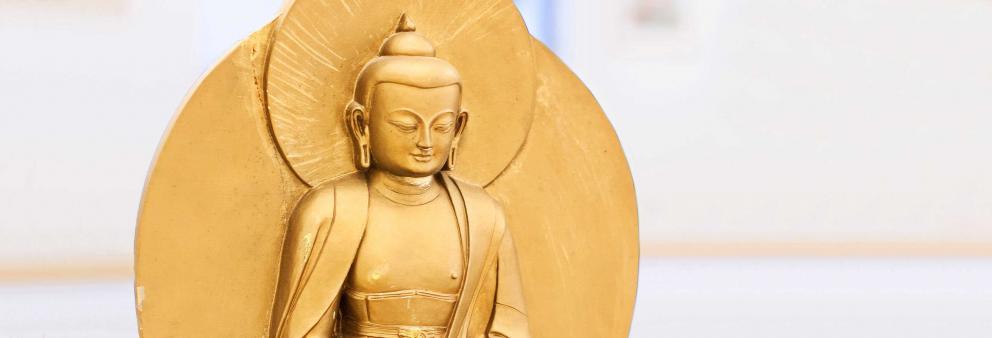 Goldener Tsatsa Siddharta Gautama