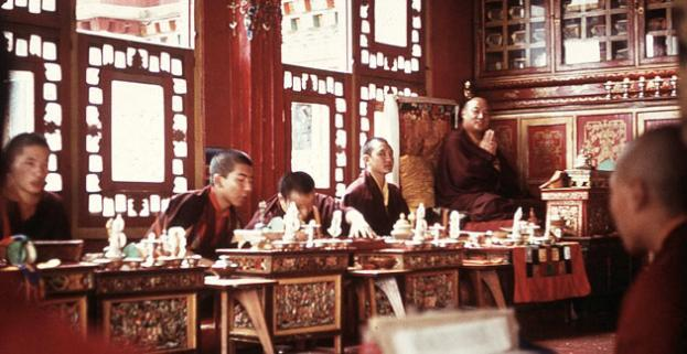 In Rumptek: Der 16. Gyalwa Karmapa Rangjung Rigpe Dorje