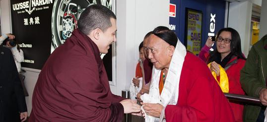 Thaye Dorje, Seine Heiligkeit der 17. Gyalwa Karmapa und Pewar Rinpoche