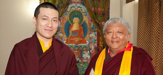 Thaye Dorje, Seine Heiligkeit der 17. Gyalwa Karmapa und Jigme Rinpoche
