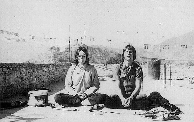 Hannah und Lama Ole Nydahl
